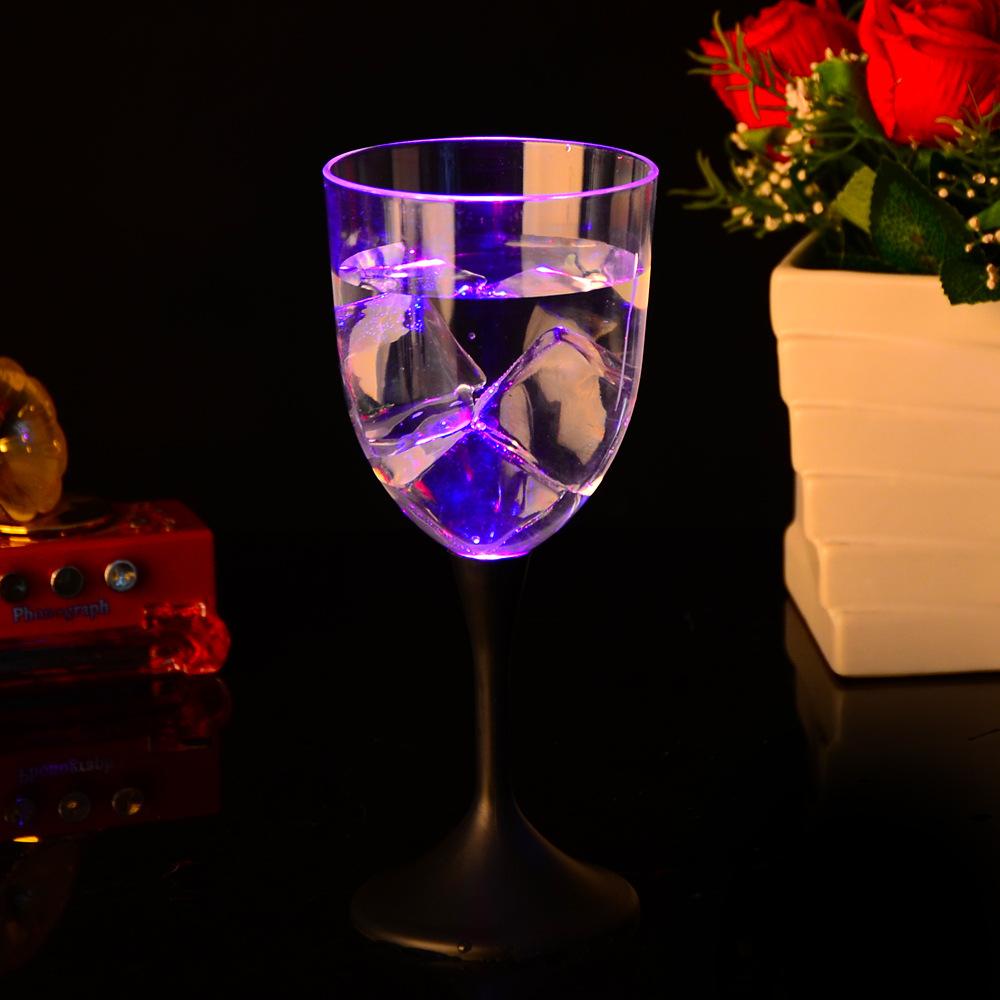 แก้วไวน์เรืองแสง แก้วไวน์ LED