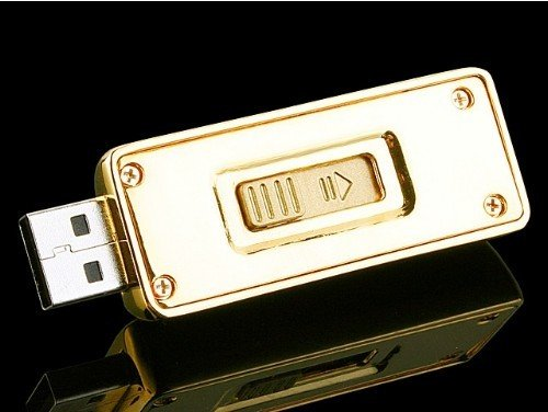 USB Flash Drive gold