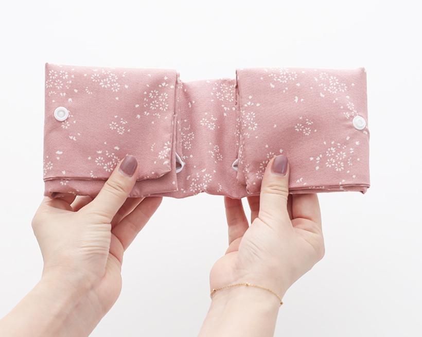 ถุงผ้าพับได้ ถุงผ้าลดโลกร้อน folding bag